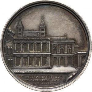 Watykan, Leon XIII 1878-1903, medal Pontyfikat Leona XIII (MAX AN VII) 1884, autorstwa Bianchi'ego