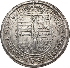 Austria, arcyksiążę Maksymilian III 1602-1618, talar 1618, Hall