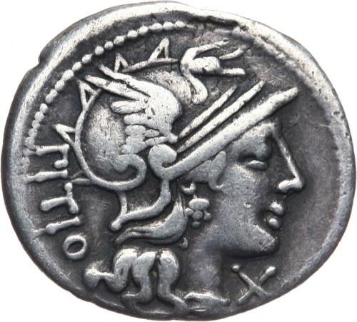 Republika Rzymska, L. Sempronius Pitio 148 pne, denar 148 pne, Rzym