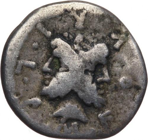 Republika Rzymska, M. Furius L. f. Philus 119 pne, denar 119 pne, Rzym