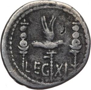 Republika Rzymska, Marek Antoniusz 32-31 pne, denar 32-31 pne