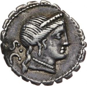 Republika Rzymska, C. Naevius Balbus 79 pne, denar 79 pne, Rzym
