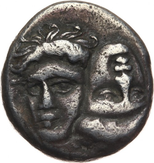 Grecja, Moesia Inferior, Istros, stater (lub didrachma) ok. 400-350 pne