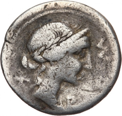 Republika Rzymska, M. Aemilius Lepidus 114-113 pne, denar 114-113 pne, Rzym