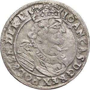 Jan II Kazimierz Waza, 1648-1668, ort 1663 AT, Kraków