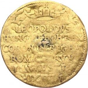 Austria, Leopold I 1658-1705 - Dukat Koronacyjny 1658 rok