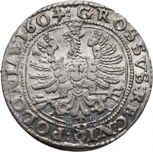 Zygmunt III Waza 1587-1632, grosz 1604, Kraków