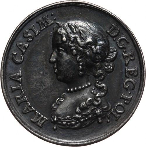 Jan III Sobieski, medal poświęcony parze królewskiej