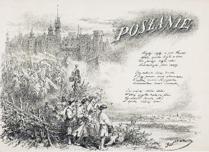 Juliusz KOSSAK (1824-1899) - według, Posłanie