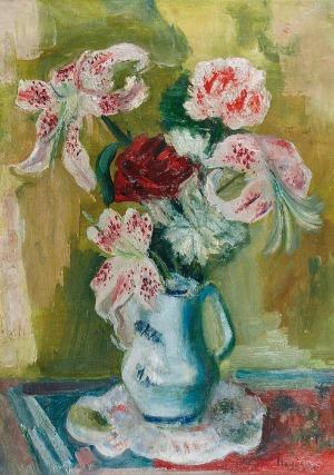 Henryk HAYDEN (1883-1970), Kwiaty w dzbanku, 1921