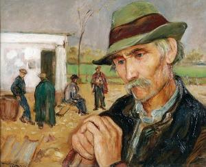 Wlastimil HOFMAN (1881-1970), Odpoczynek, ok. 1930