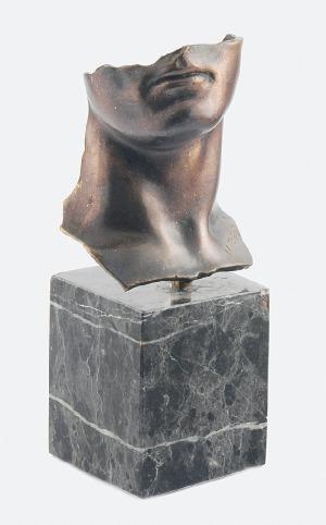 Igor MITORAJ (1944- 2014), Portret mężczyzny