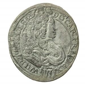 6 krajcarów, Karol Fryderyk, 1715