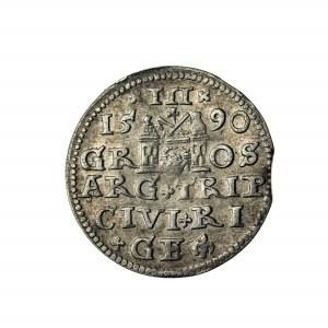 trojak, Zygmunt III Waza (1587-1632), 1590