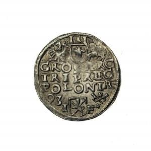 trojak, Zygmunt III Waza (1587-1632), 1593