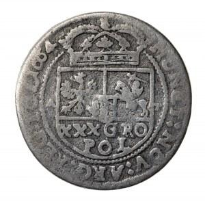 złotówka-tymf, Jan Kazimierz (1649-1668), 1664