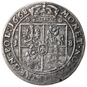 ort, Jan Kazimierz (1649-1668), 1668