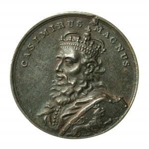 Kazimierz Wielki, XIX wieczna kopia medalu z XVIII wieku