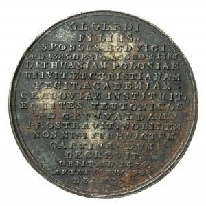 Władysław Jagiełło, XIX wieczna kopia medalu z XVIII wieku