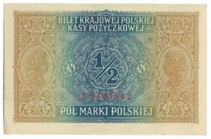 1/2 marki 1916, Warszawa, jenerał