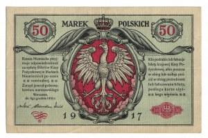 50 marek 1916, Warszawa, jenerał
