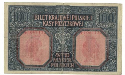 100 marek 1916, Warszawa, jenerał