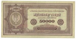 50 000 marek polskich 1922