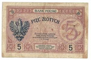 5 złotych 1919, Poniatowski