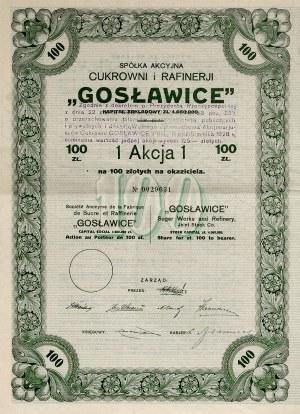 II RP, Gosławice Akcja 100 zł