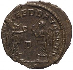 Rzym, Konstans, Follis Trewir - Victoriae