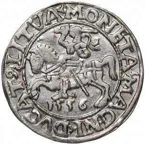 Zygmunt II August, Półgrosz 1556 Wilno - L/LITVA