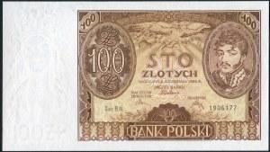 100 złotych 9 listopada 1934