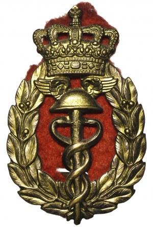 Odznaka czapkowa Szkoły Handlowej Zgromadzenia Kupców Warszawa