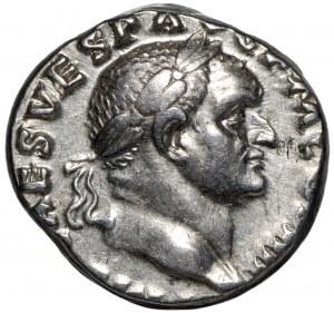 Rzym, Wespazjan, Denar