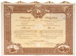 Warszawa, Obligacja 4 1/2% na 66 zł 50 gr 1931
