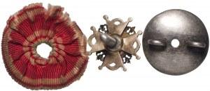 Rosja, miniatura Orderu Św. Stanisława 3 klasy - złoto
