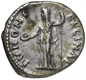 Rzym, Sabina (żona Hadriana), Denar Junona