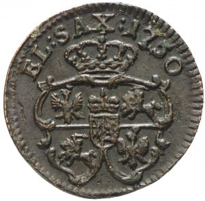 August III Sas, Szeląg 1750 Drezno