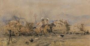 Kossak Juliusz, WESELE KRAKOWSKIE, 1877