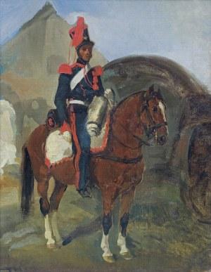 Michałowski Piotr, ŻOŁNIERZ FRANCUSKI NA KONIU, 1832-1933