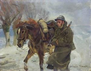 Kossak Wojciech, W DRODZE, 1934