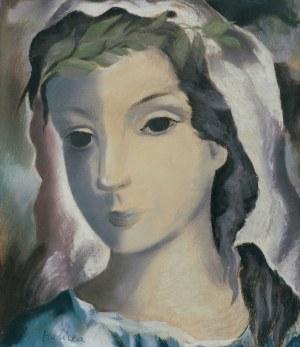 Halicka Alicja, PORTRET DZIEWCZYNY, OK. 1935-1938