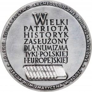 medal JOACHIM LELEWEL 1786-1861, 1980, srebro Ag, masa rzeczywista: 173 g