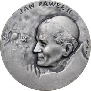 medal JAN PAWEŁ II, 1983, srebro Ag, masa rzeczywista: 111 g