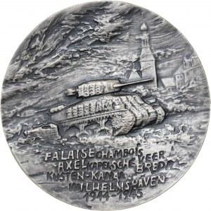 medal GENERAŁ STANISŁAW MACZEK, 1987, srebro Ag, masa rzeczywista: 162 g