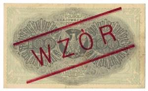 100 marek polskich 1919, WZÓR