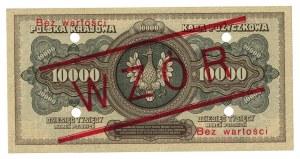 10 000 marek, 1922, WZÓR