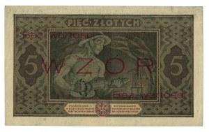 5 złotych, 1926, WZÓR