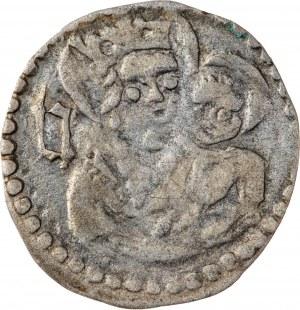 Śląsk, Księstwo Głogowsko -Żagańskie –Henryk IX Starszy, halerz 1446-1467 , Lubin, R3