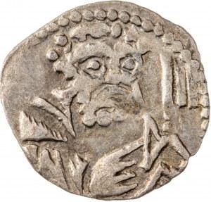 Śląsk, Księstwo Legnicko-Brzeskie - Ludwik II Brzeski 1413-1436 lub Elżbieta Brandenburska 1436-1449, halerz, Legnica